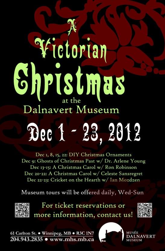Dalnavert Christmas 2012 - Poster